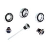 Click to view: 71-73 DASH KNOB AND BEZEL KIT, 6 PIECE KIT